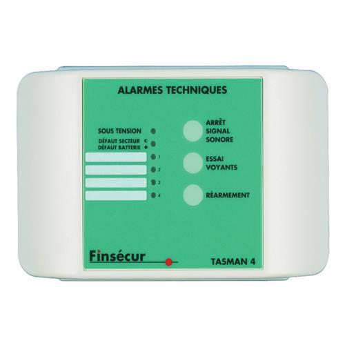COFFRET D'ALARME TECH,2E NO/NF