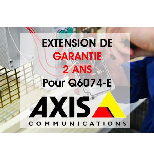 GARANTIE EXT WAR AXIS Q6074-E 50HZ