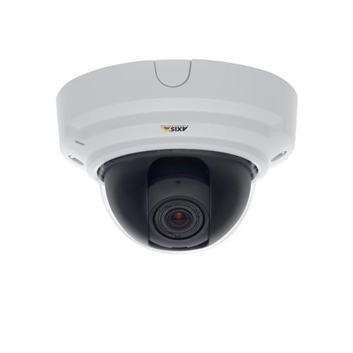 Caméra réseau AXIS P3364-V - Couleur, Monochrome - 1280 x 960 - 2,4x Optique - CMOS - Câble - Fast Ethernet