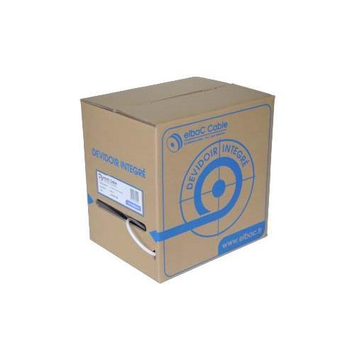 Câble vidéo/alimentation elbaC - Coaxial - pour Appareil vidéo, Système de Vidéo Surveillance - 150 m - Fil Dénudé - Fil Dénudé - Noir
