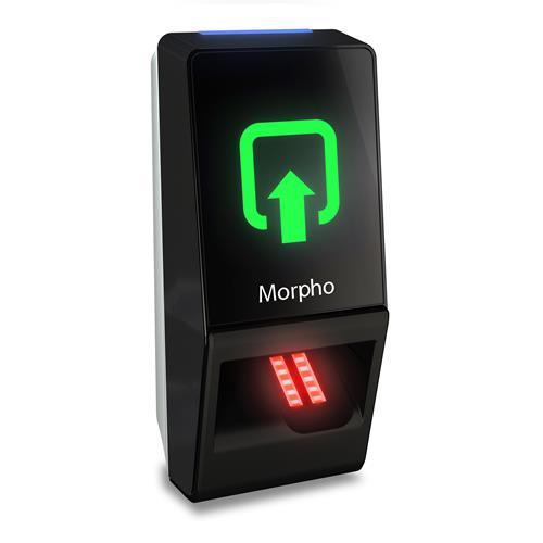 Dispositif d'accès pour lecteur biométrique ou à carte Morpho MorphoAccess SIGMA Lite - Porte - Empreinte Digitale, Proximité - 500 Utilisateur(s) - Ethernet - Réseau (RJ-45) - Série - Wiegand - 24 V DC - Fixation sur porte, Montable sur Métal
