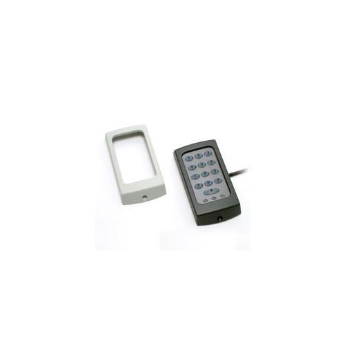 Lecteur de carte/Dispositif d'accès clavier Paxton Access KP50 - Noir, Blanc - Porte - Proximité - 1 Porte(s) - 12 V DC - Support