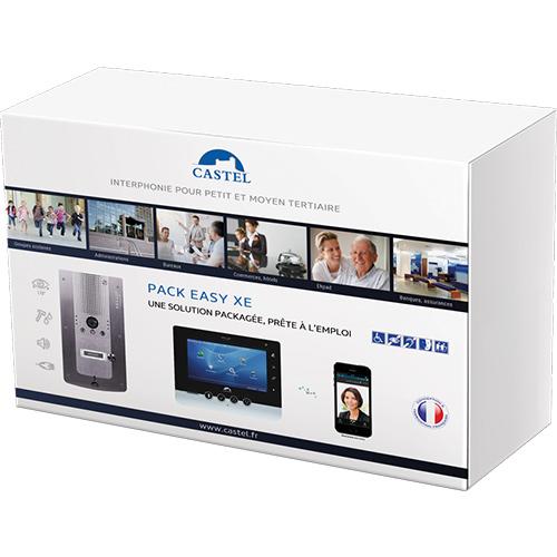 Intercom Kit Video Pack Easy Xe