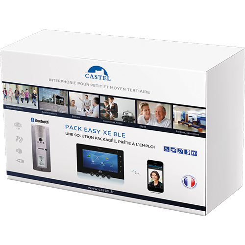 INTERCOM KIT VIDEO PACK EASY XE BLE