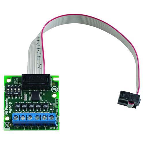 Visonic PGM-5 Carte sortie relais - Pour Tableau de Commande