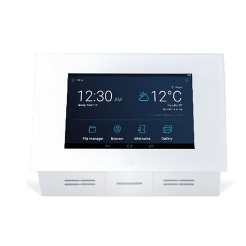 INTERCOM VIDEO IP Indoor Touch 2.0 Blanc