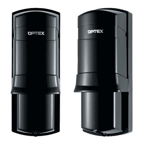 Optex AX-70TN Détecteur photoélectrique - Câble - Faisceau double - 21,34 m Outdoor Range - Fixation Murale, Sur Mât