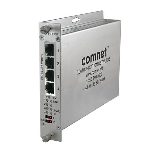 MIDSPAN POE 4ch Ethernet UTP IEEE