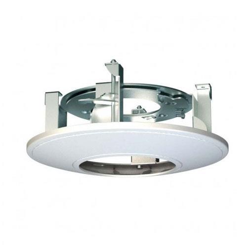 Support mural Hikvision pour Caméra de surveillance - Métal, Plastique ABS - Blanc
