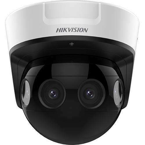 Caméra dôme Panoramique IP Extérieure HIKVISION PanoVu 4 x 2MP 180° 2.8mm IR 20M