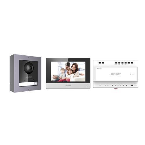 Kit interphone vidéo couleur 2 fils SD