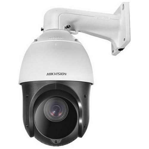Caméra dôme PTZ extérieure Hikvision 4MP 4.8-120mm + support