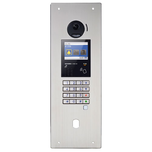 INTERCOM VIDEO COULEUR ENCAST INOX DEFL