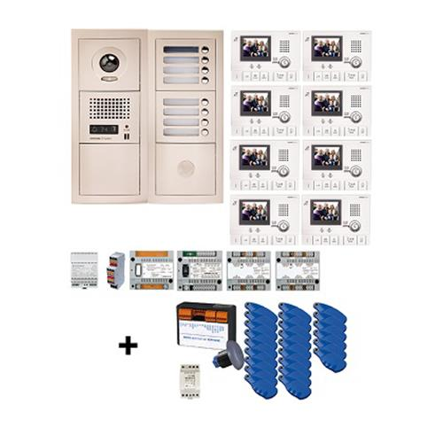 INTERCOM KIT VIDEO VIGIK 8BP