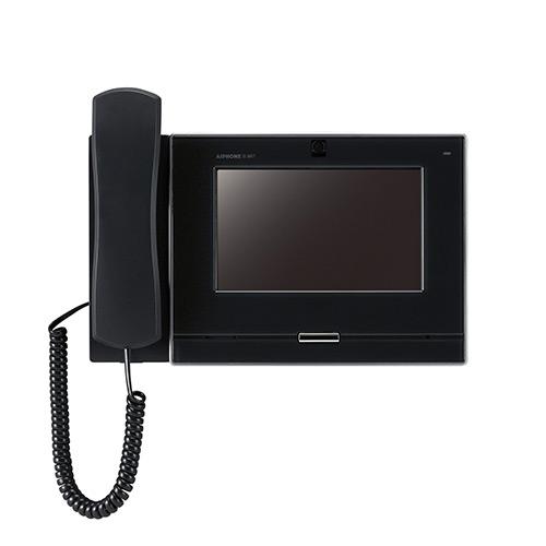 INTERCOM MONITEUR noir vidéo IP / SIP