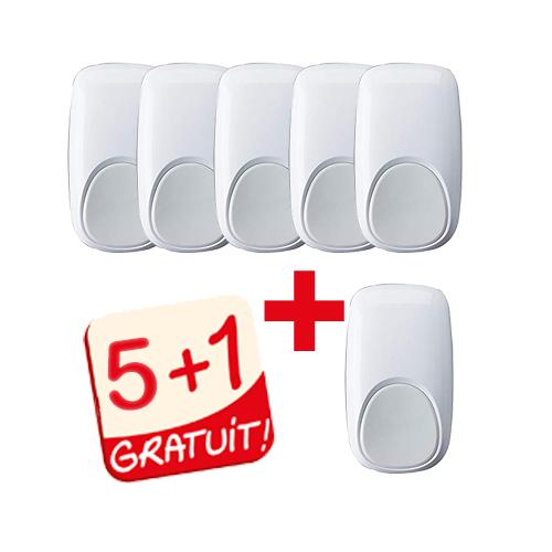 KIT INTRUSION 5 DT8016AF5 + 1 GRARTUIT