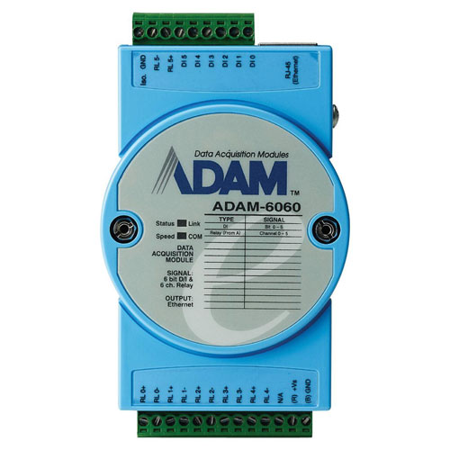 TELEMETRY IP DIVERS Module E/S ADAM 6060