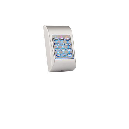 Dispositif d'accès clavier XPR MTPADS - Argenté - Code clé - 99 Utilisateur(s) - 24 V DC - Support