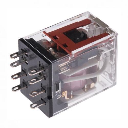 RELAIS PCB 12 VCC 2RT 5A/250V SS EMBASE