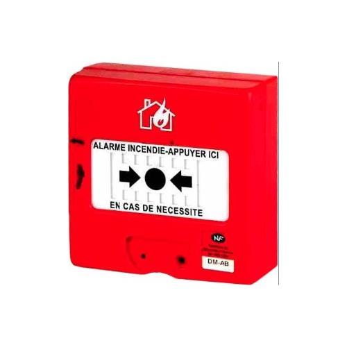 FINSECUR NEMO 112A Poussoir manuel Pour Alarme - Rouge - Acrylonitrile butadiène styrène (ABS)