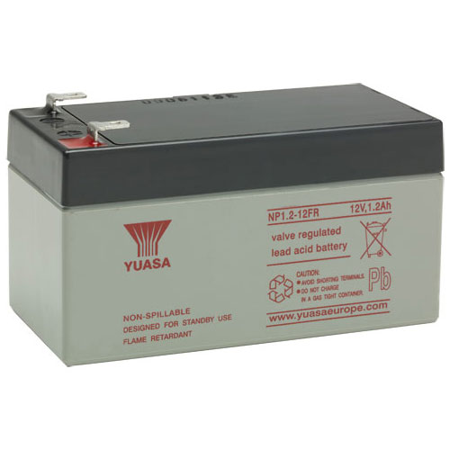 Batterie Yuasa NP12-12FR - 12000 mAh - Scellées au plomb-acide (SLA) - 12 V DC - Batterie rechargeable