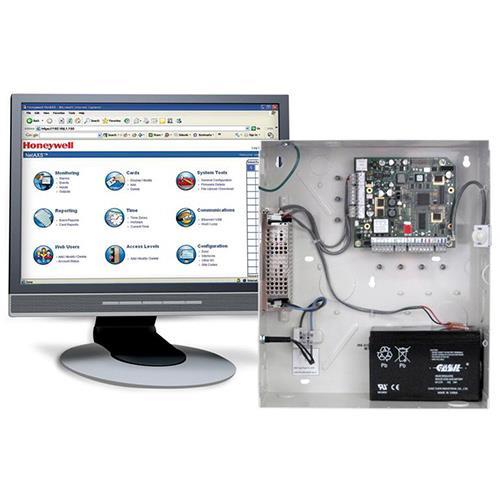 Système de contrôle d'accès de porte Honeywell NetAXS NX3MPS - Porte - Proximité - 3 Porte(s) - Ethernet - Série - Wiegand - 12 V DC - Standalone