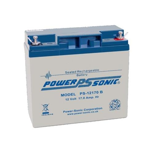 Batterie Power-Sonic PS-12170 - 17000 mAh - Scellées au plomb-acide (SLA) - 12 V DC - Batterie rechargeable - 1 / Paquet