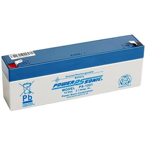 Batterie Power-Sonic PS1221VDS - 2100 mAh - Scellées au plomb-acide (SLA) - 12 V DC - Batterie rechargeable