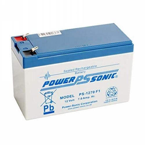 Batterie Power-Sonic PS-1270 - 7000 mAh - Scellées au plomb-acide (SLA) - 12 V DC - Batterie rechargeable - 1 Pack