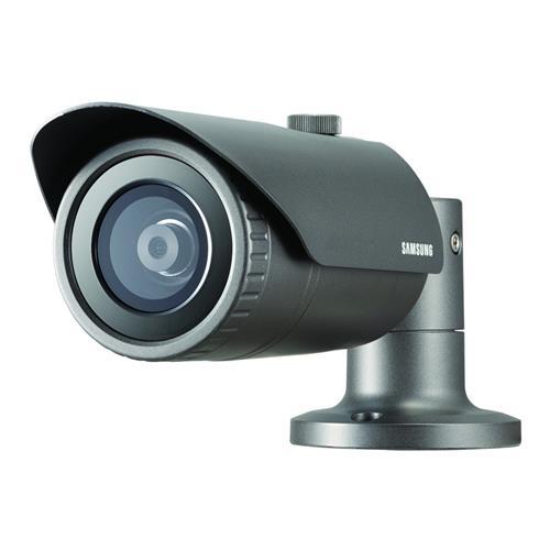 Caméra réseau Samsung WiseNet QNO-7010R 4 Mégapixels - Couleur, Monochrome - 20 m Night Vision - Motion JPEG, H.264, H.265 - 2592 x 1520 - 2,80 mm - CMOS - Câble - Ogive