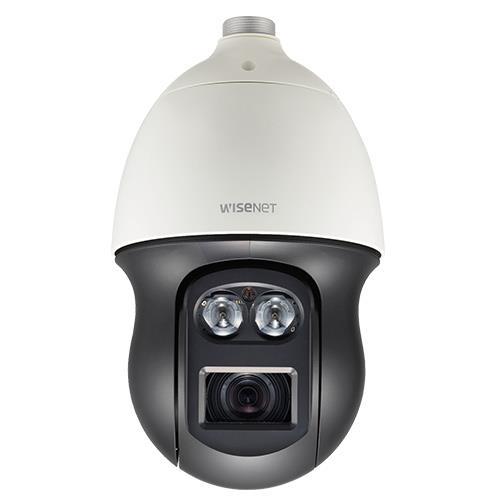 Caméra dôme PTZ IP Extérieure Hanwha Wisenet Q 2MP 4.44-102.2mm zoom 23X IR 100M