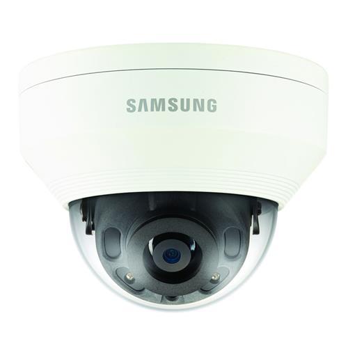 Caméra réseau Hanwha Techwin WiseNet QNV-7010RP 4 Mégapixels - Couleur, Monochrome - 20 m Night Vision - Motion JPEG, H.264, H.265 - 2592 x 1520 - 2,80 mm - CMOS - Câble - Dome