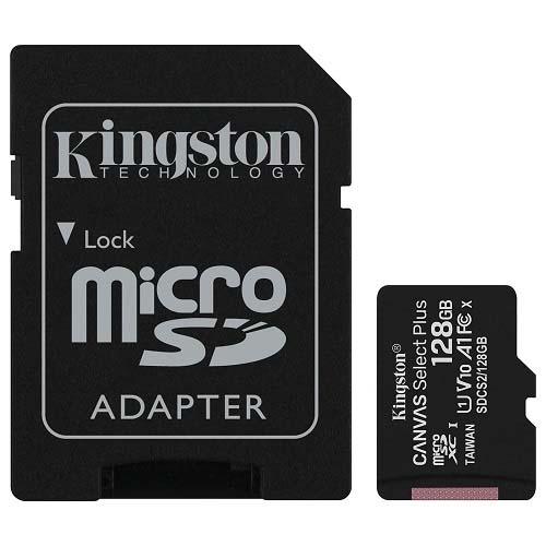 STOCKAGE ACC MicroSD 128Go Class10 UHS-I