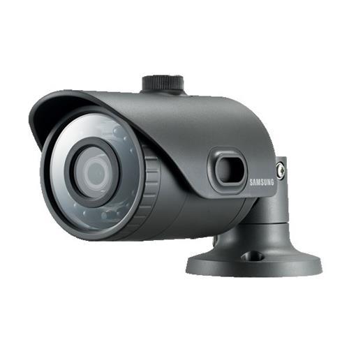 Caméra réseau Samsung WiseNet Lite SNO-L6013R 2,2 Mégapixels - Monochrome, Couleur - Motion JPEG, H.264 - 1920 x 1080 - 3,60 mm - CMOS - Câble - Ogive