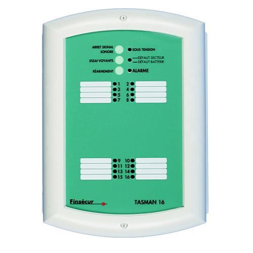Coffret D'alarme Tech,16e No/Nf