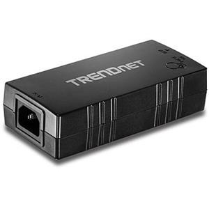 Injecteur POE TRENDnet TPE-115GI - 110 V AC, 220 V AC Entrée - 1 10/100/1000Base-T Input Port(s) - 1 10/100/1000Base-T Output Port(s) - 30 W