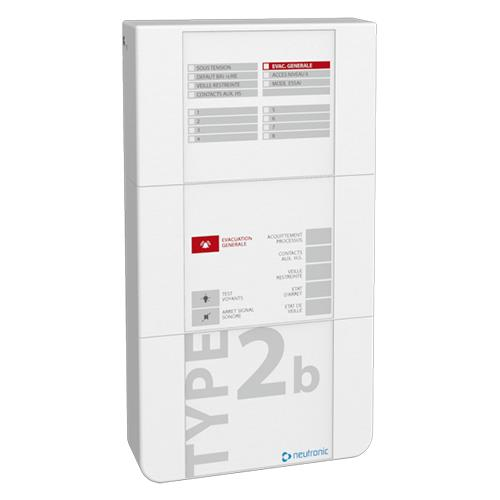 Centrale Incendie Type B T2b- Baas Pr 2z