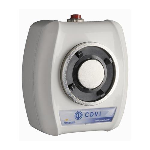 Arrêt de porte électromagnétique CDVI - Fixation Murale - 125 mm x 112 mm x 66 mm