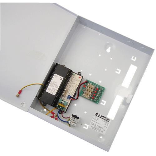 Système d'alimentation Elmdene Vision VRS124000-4-T - 120 V AC, 230 V AC Input Voltage - 12 V DC Tension de Sortie - Boîte