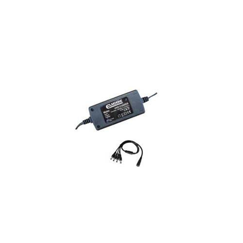 ALIMENTATION VIDEO 12V 5A 4-Way EU Plug