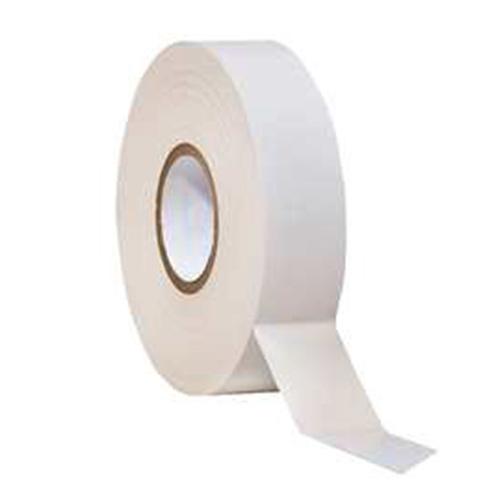 ROULEAU ADHESIF PVC 19mmx33mm BLANC