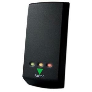Dispositif d'accès par carte Paxton Access Net2 P50 - Noir, Blanc - Porte - Proximité - 1 Porte(s) - 300 mm Plage de fonctionnement - 12 V DC - Support