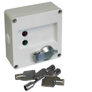 Vérouillage à clé - 1 / Paquet Cooper - Montage en surface pour Sécurité