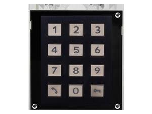 INTERCOM VIDEO IP Verso Clavier Noir
