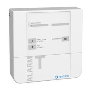 ALARME TECHNIQUE 2voies  +1 relais/zones