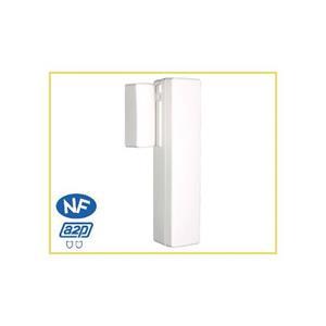 Honeywell Alpha Sans fil Contact magnétique - 25 mm Écartement - Pour Porte, Fenêtre - Fixation murale - Blanc
