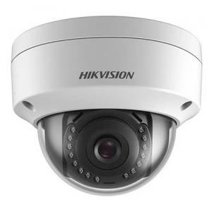 Caméra dôme IP extérieure HIKVISION 2MP objectif fixe 2.8MM IR 30M IK10