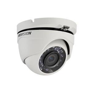 Caméra de surveillance Hikvision Turbo HD DS-2CE56C0T-IRMF 1 Mégapixels - Couleur, Monochrome - 20 m Night Vision - 1280 x 720 - 2,80 mm - CMOS - Câble - Turret - Fixation murale, Montant, Montage en Coin, Support pour boîte de jonction