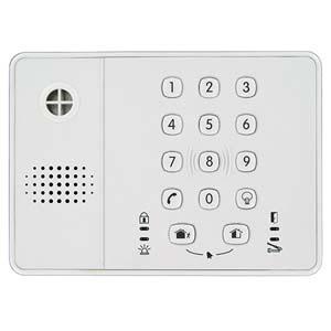 Lecteur de carte/Dispositif d'accès clavier Honeywell LKPES8M-EN - Code clé, Proximité - 10 Utilisateur(s)