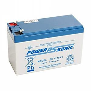 Batterie Power-Sonic PS-1270 - 7000 mAh - Scellées au plomb-acide (SLA) - 12 V DC - Batterie rechargeable - 1 Pack